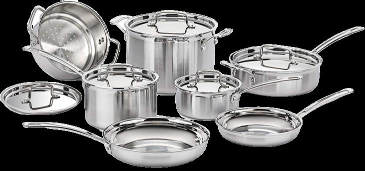 Pentole Alluminio set